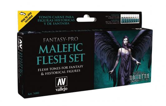 """Malefic"" Fantasy-Pro Paint Set"