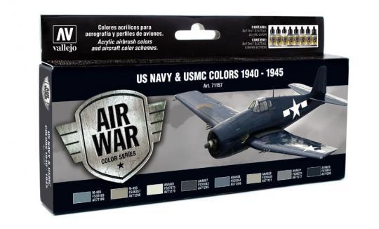US Navy & USMC Flugzeugfarben 1940-1945