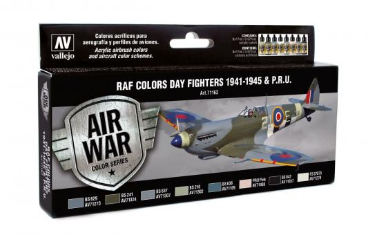 RAF Colors Day Fighters 1941-45 & P.R.U.