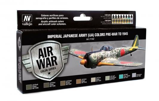 Kaiserliche Japanische Armee (IJA) Farben