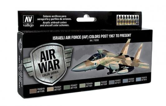 Farbset: Israelische Luftwaffe (IAF) 1967-Gegenwart
