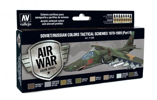Sowjetische / Russische Farben Taktische Tarnschemen 1978-89 Teil 2