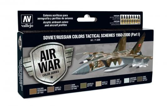 Soviet/Russian Colors Tactical Schemes 1960-2000 (Part I)