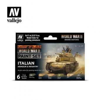 Italienische Fahrzeuge und Uniformen, 2.WK