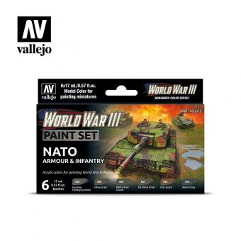 WWIII NATO Armour & Infantry