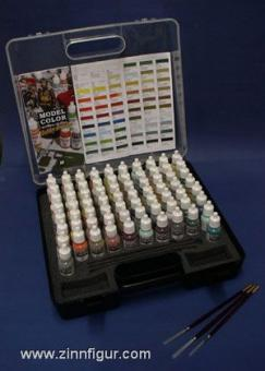 Komplettes Farbset: Military Color Set mit 72 Farben