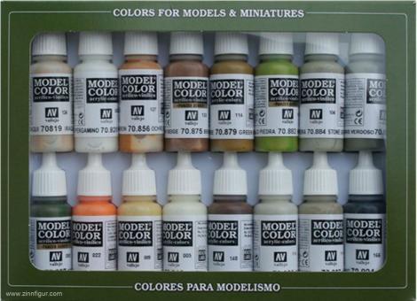 Grundfarben-Set: Erdfarbtöne