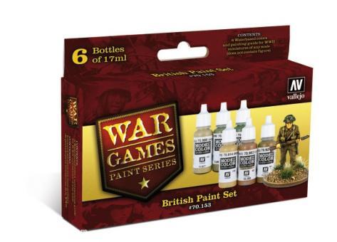 "Britische Soldaten ""Wargames Paint Set"""
