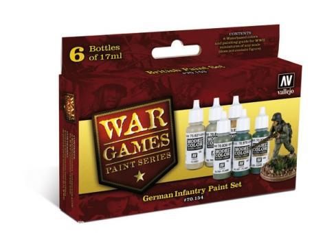 "Deutsche Infanterie ""Wargames Paint Set"""