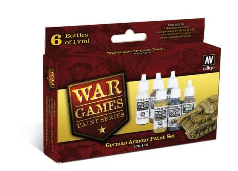 """Deutsche Panzer """"Wargames Paint Set"""""""