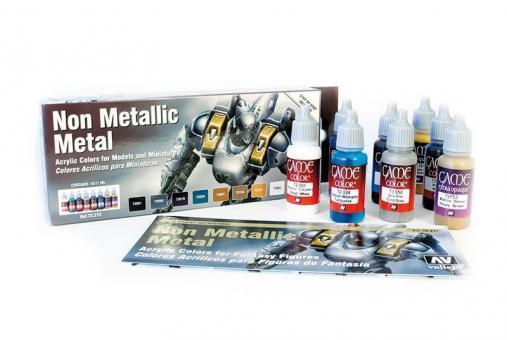 Non Metallich Metal Paint Set