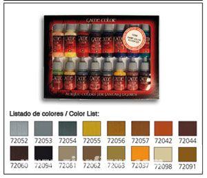 Leder & Metall Game Color Set