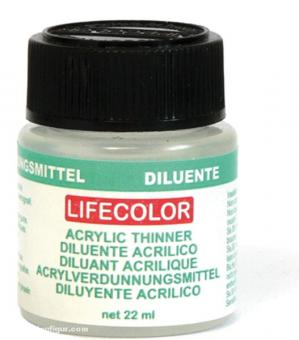 Lifecolor thinner for acrylic colours