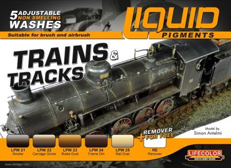 Liquid Pigments: Railway