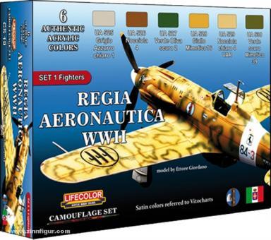 Königlich Italienische Luftwaffe: Set 1 Jagdflugzeuge
