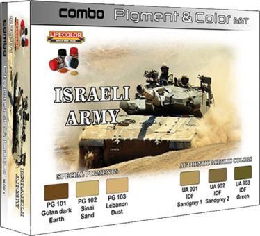 Pigment & Farbset Israelische Armee