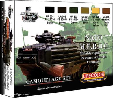 Lifecolor Set 4: NATO M.E.R.D.C.