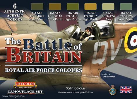 """Battle of Britain"" Royal Air Force Farbset"