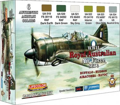 Farbset 2: Australische Luftwaffe WW2 (RAAF)