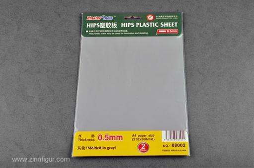 Kunststoffplatte 0,5 mm