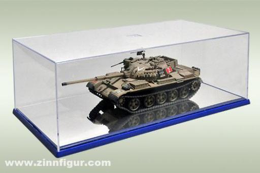 Display Case with Mirror Base 364x186x121mm