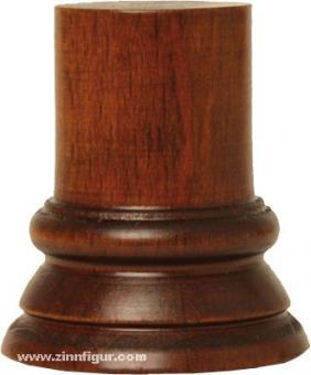 Sockel rund, braun ca. 24 x 45 mm