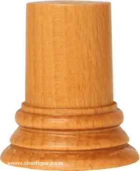 Sockel rund, Kirschbaum ca. 24 x 45 mm