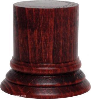 Sockel rund, Rot ca. 40 x 50 mm