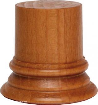 Sockel rund, Kirschbaum ca. 40 x 50 mm