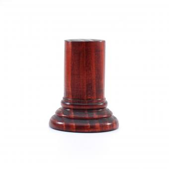 Sockel rund, Rot, ca. 30 x 63 mm