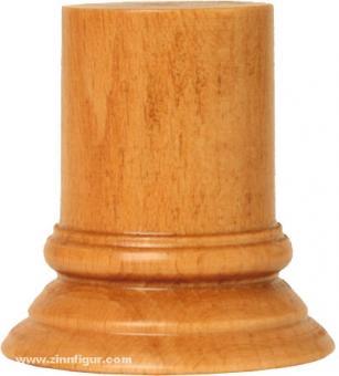 Sockel rund, Kirschbaum ca. 30 x 49 mm