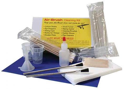 Airbrush Reinigungs- und Plege-Set