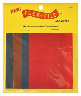 Flex-i-File Abrasive Sheets