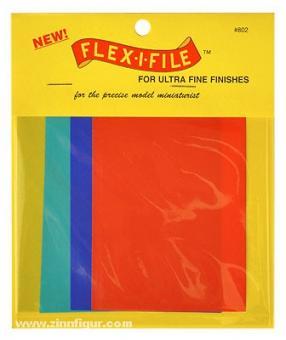 Flex-i-File Abrasive Sheets Ultra-Fine