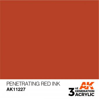 Penetrating Red INK