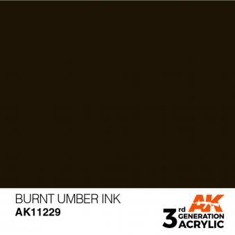 Burnt Umbra INK