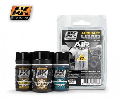 Flugzeugmotoren Alterungsset - Air Series