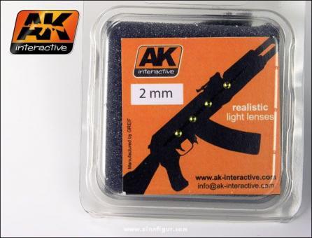 Lenses Amber 2mm