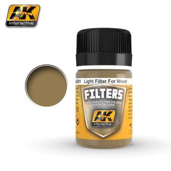 Heller Filter für Holz