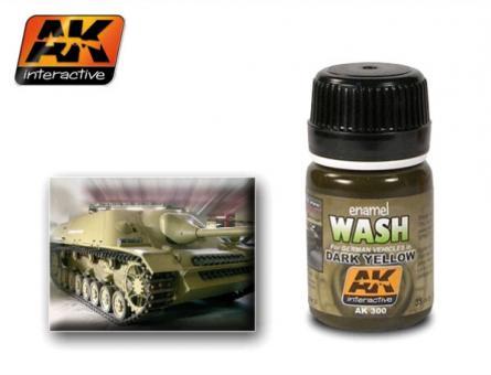 Dark Yellow Wash