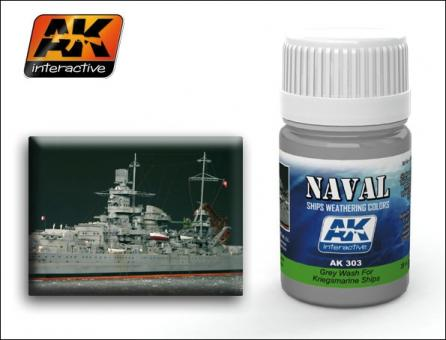 Grey Wash for Kriegsmarine Ships