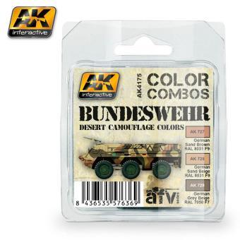 Bundeswehr Wüstentarn-Farbenset