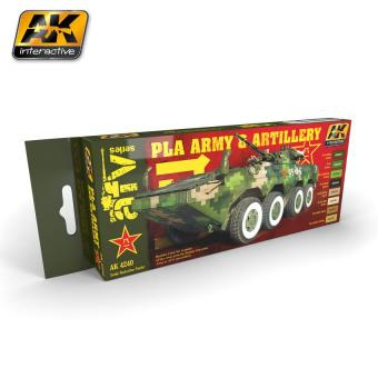 PLA Army and Artillery colors set