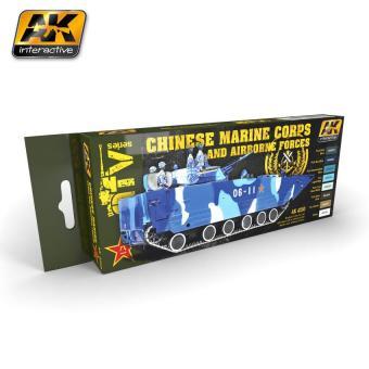 Chinesische Marine & Luftwaffe Farbset