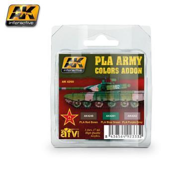 Pla Army Colors Addon colors set