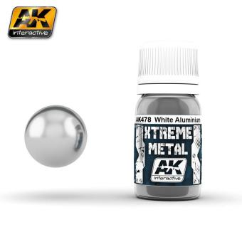 Xtreme Metal - Weißes Aluminium