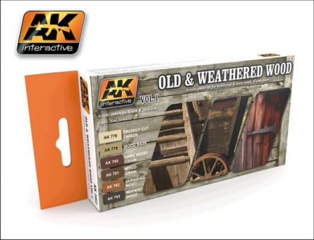 Old & Weathered Wood Vol.1