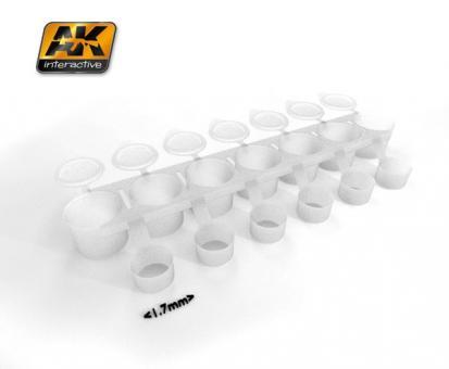 Mix Addict - Farbbecher mit Deckel - kleine Größe (leer)