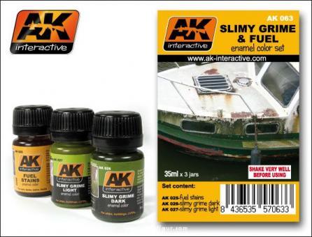 Slimy Grime & Fuel Set