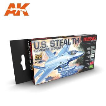 U.S. Stealth Tarnfarbenset